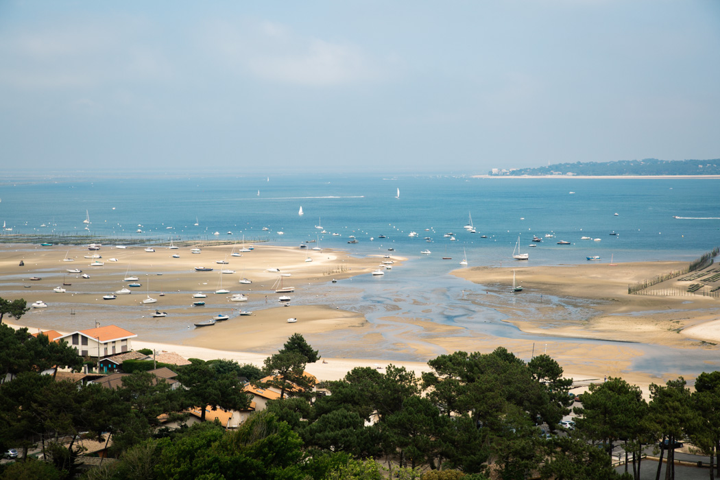 Phare Cap Ferret panorama