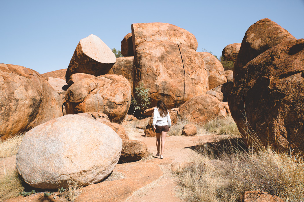 rochers Devils Marbles